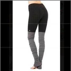 Alo Yoga Goddess Leggings / Sock Leggings